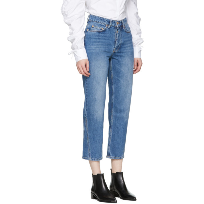 Won Hundred Blue Pixi Wide-Leg Jeans