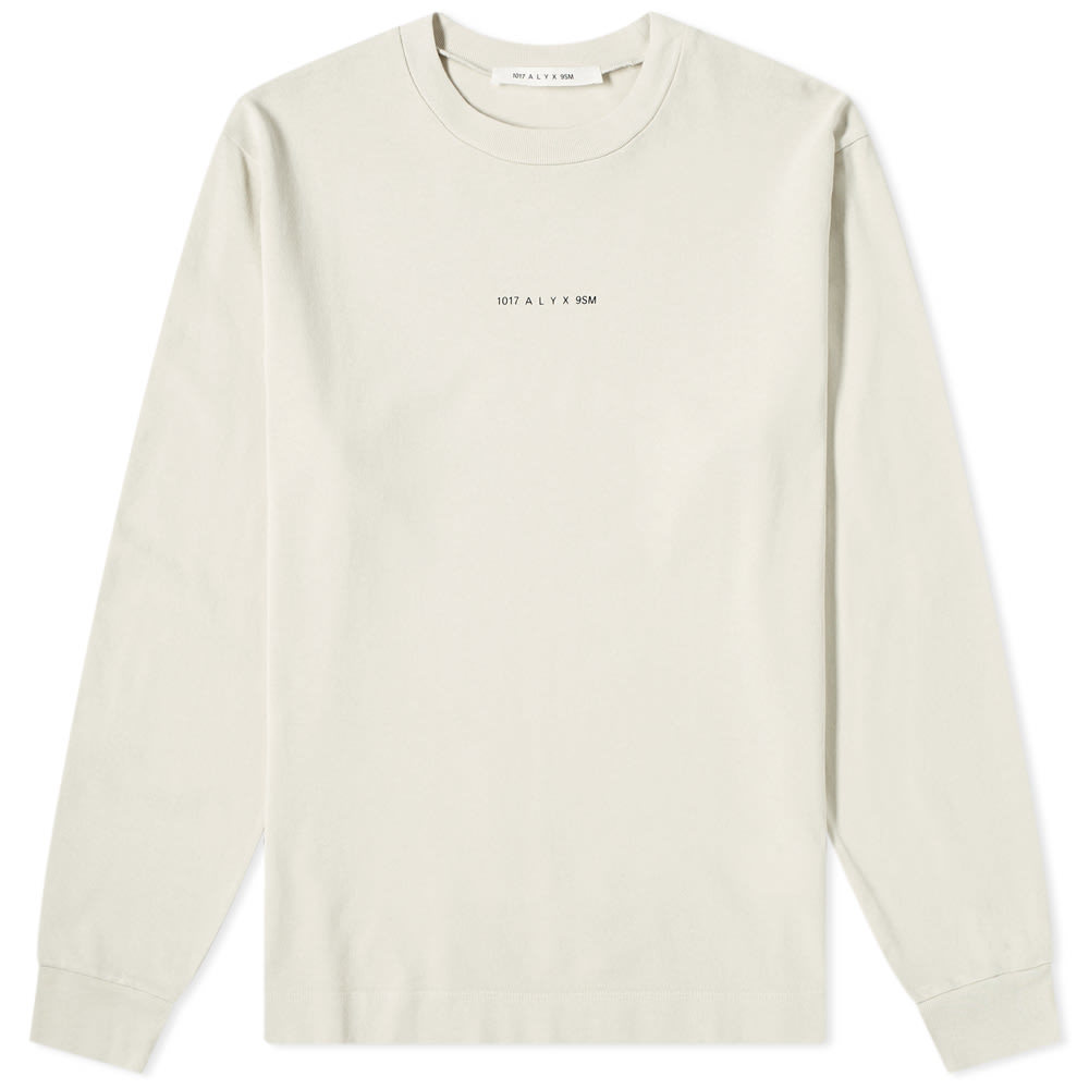 1017 ALYX 9SM Long Sleeve Back Print Tee