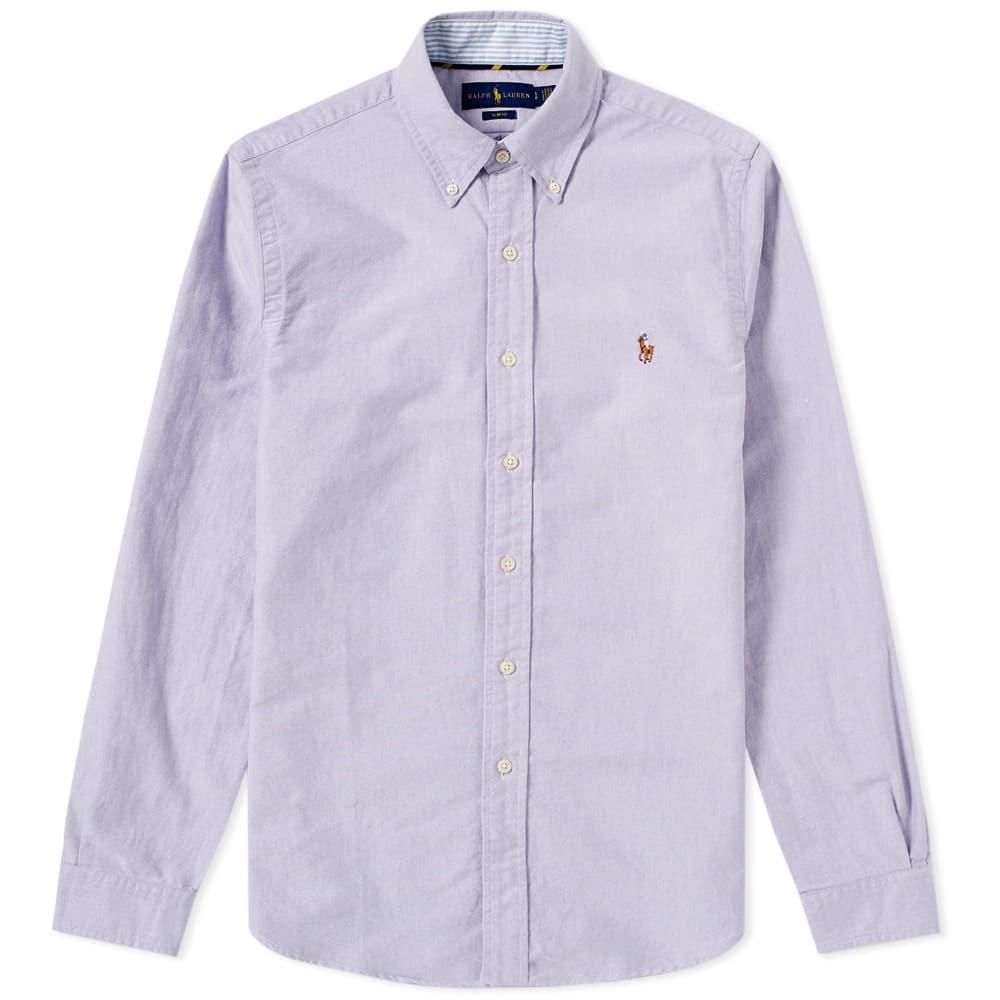 Photo: Polo Ralph Lauren Slim Fit Button Down Oxford Shirt