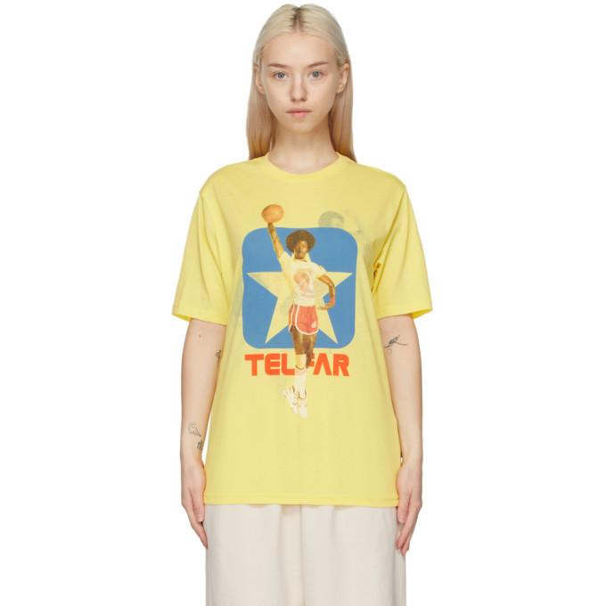 Photo: Telfar Reversible Yellow Converse Edition LZ T-Shirt