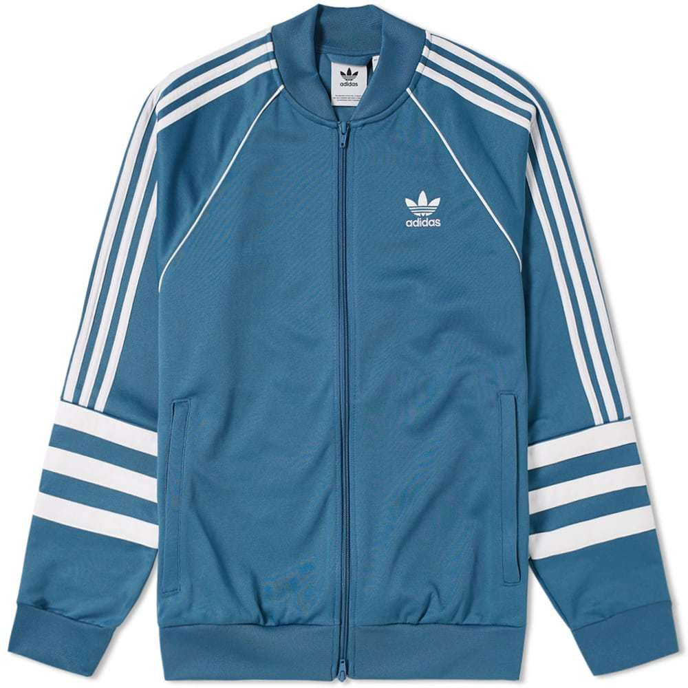Adidas Authentic Track Top Blue