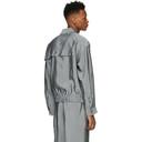 3.1 Phillip Lim Grey Blouson Shirt Jacket