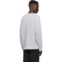 Dunhill Grey Engineered Rib Military Sweater