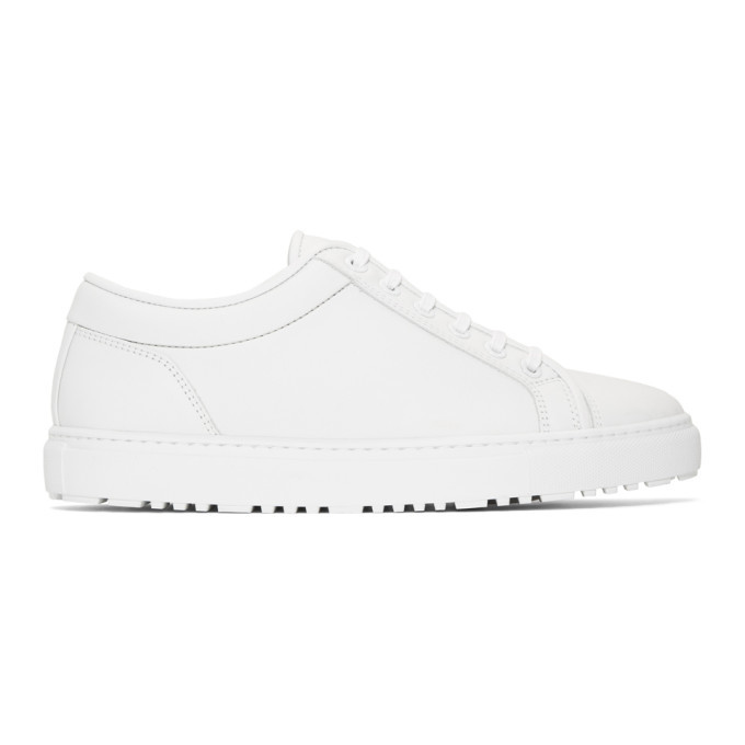 Photo: ETQ Amsterdam White Low 1 Rugged Sneakers