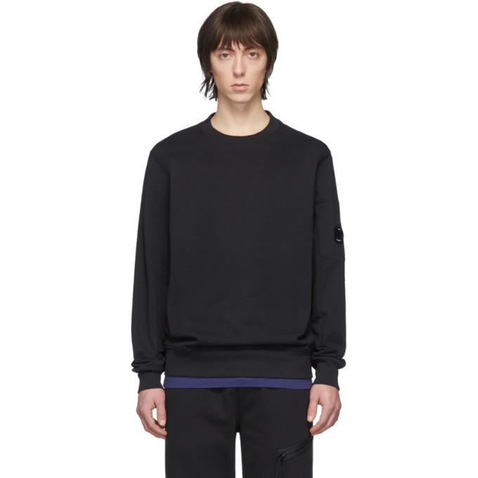 Photo: C.P. Company Black Crew Sweatshirt