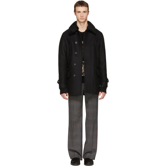 Photo: Belstaff Black Saddleworth Coat