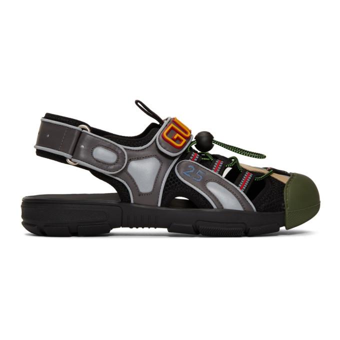 Photo: Gucci Black Tinsel Sandals