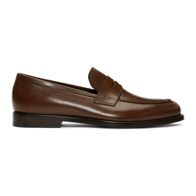 Photo: Paul Smith Brown Wolf Loafers