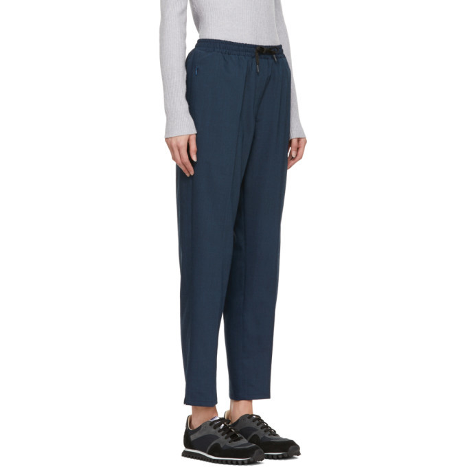 Won Hundred Navy Cleo Trousers