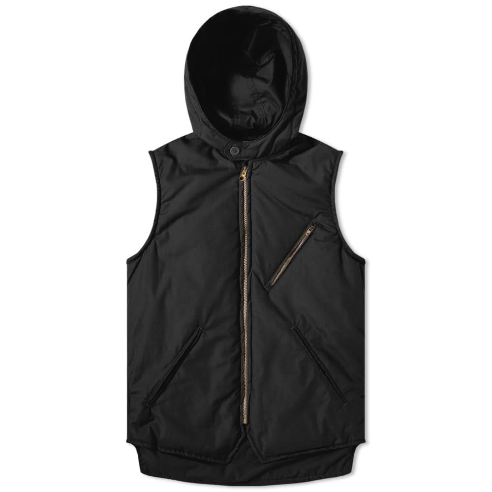 Photo: Post Overalls E-Z Cruz Hooded Vest Black