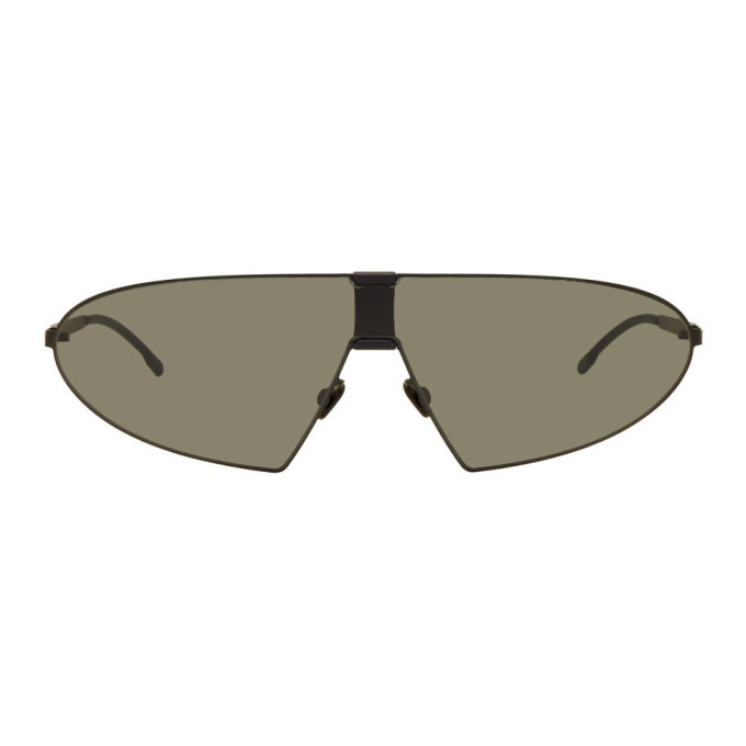 Photo: Mykita Black Karma MH1 Sunglasses