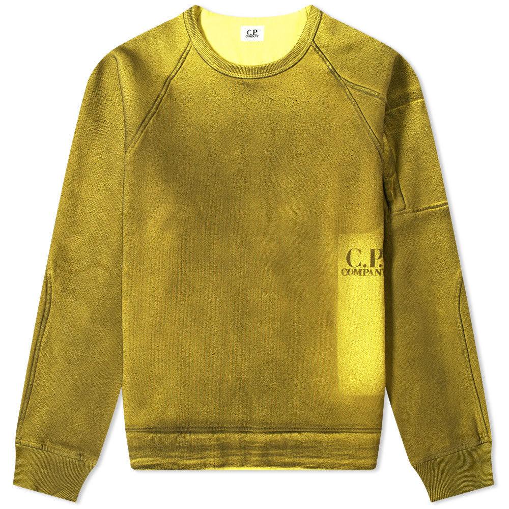 C.P. Company P.Ri.S.M Garment Dyed Print Crew Sweat