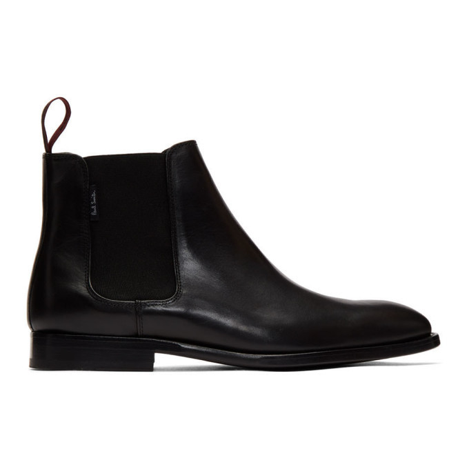 Photo: PS by Paul Smith Black Gerard Chelsea Boots