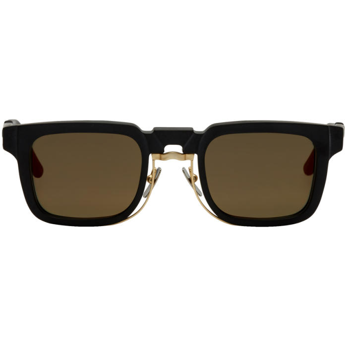 Photo: Kuboraum Black Mask N4 Sunglasses