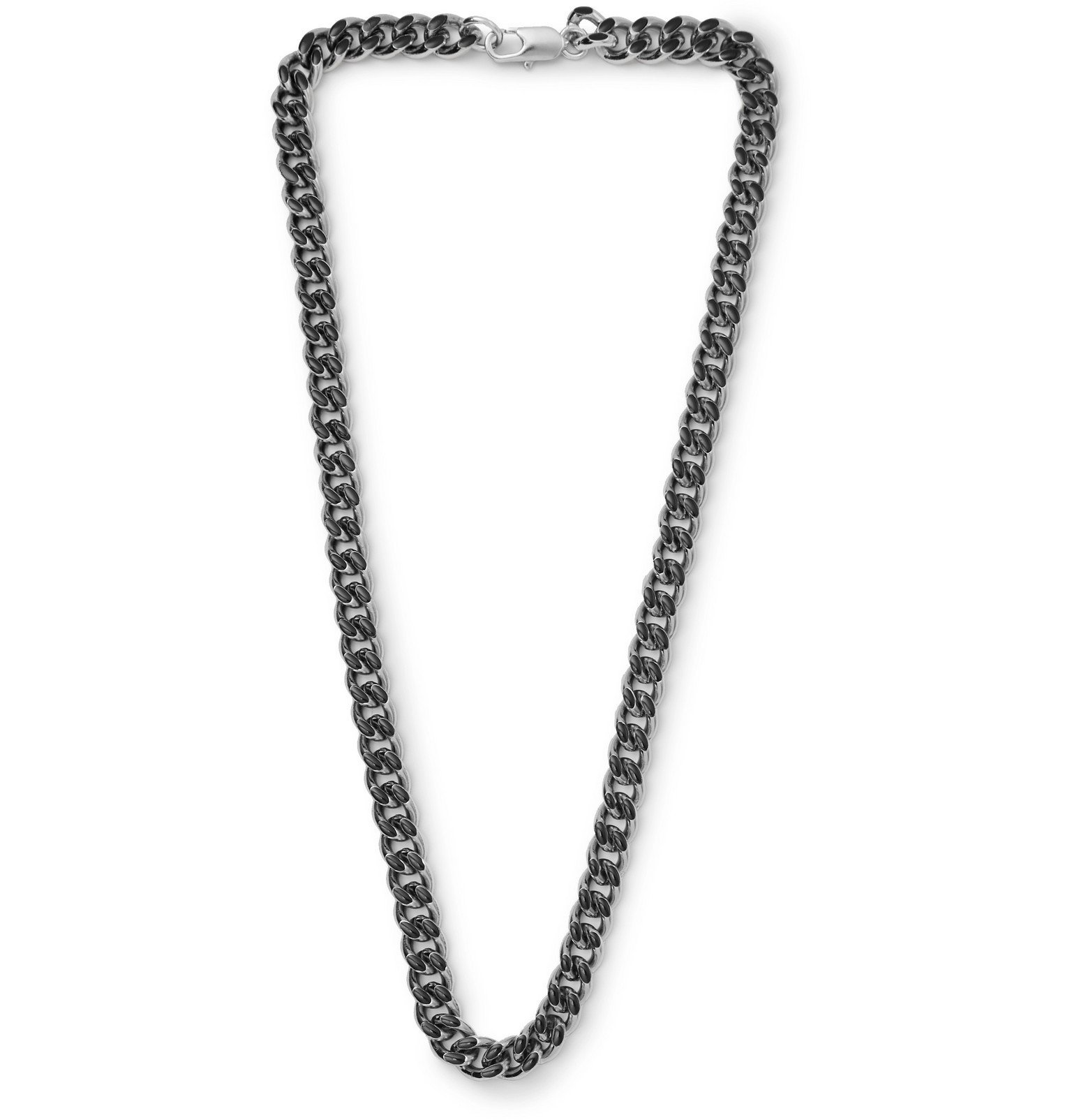 Photo: A.P.C. - Silver-Tone Necklace - Silver