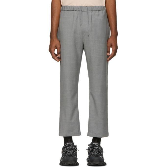 Photo: OAMC Grey Wool Cropped Trousers