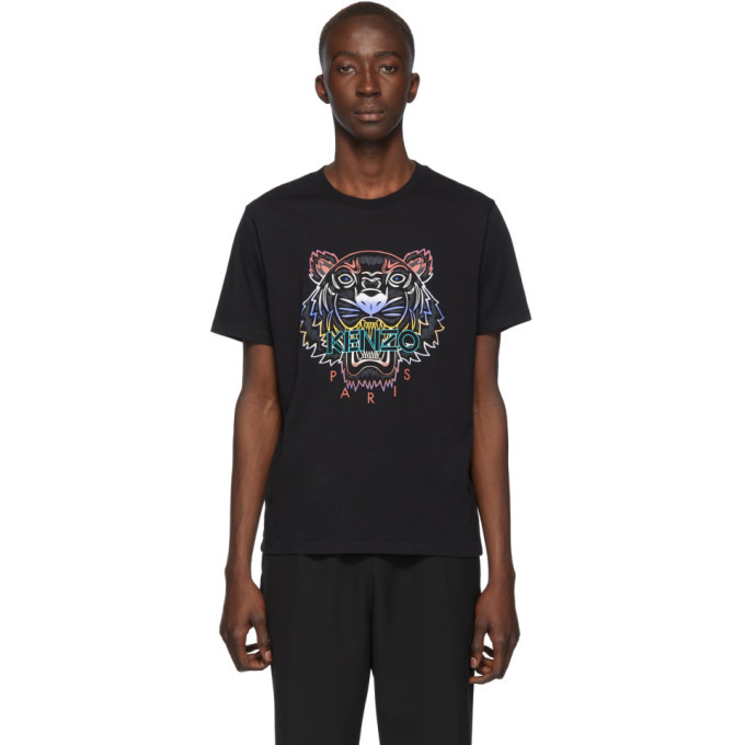 Photo: Kenzo Black Gradient Tiger T-Shirt