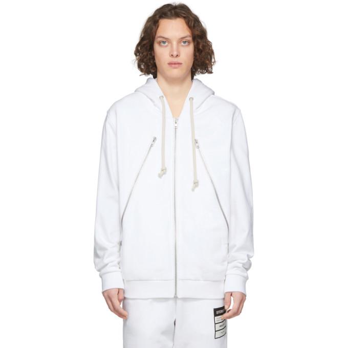 Photo: Maison Margiela Off-White Organic Zip Hoodie