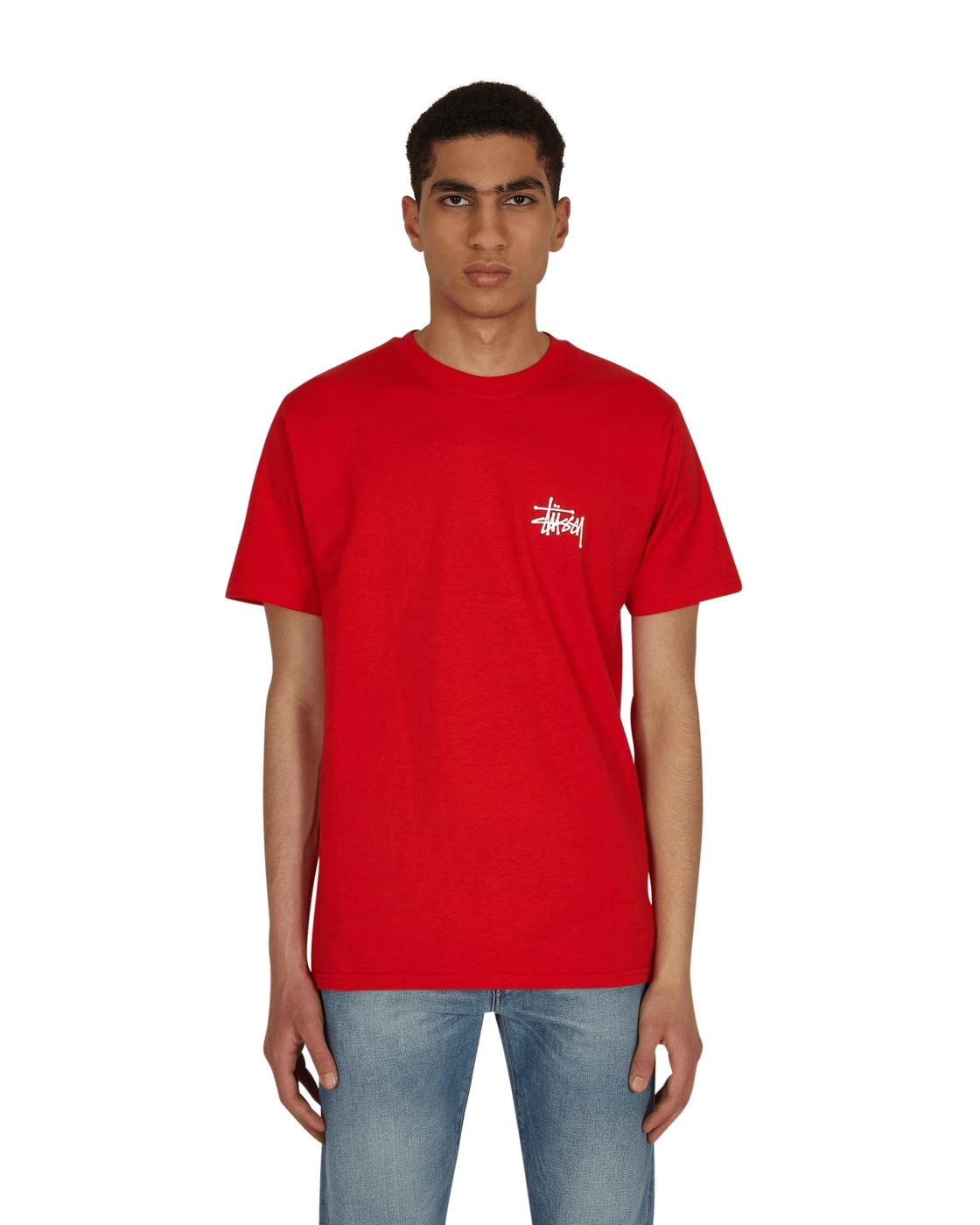 Photo: Stussy Basic Stussy T Shirt Red