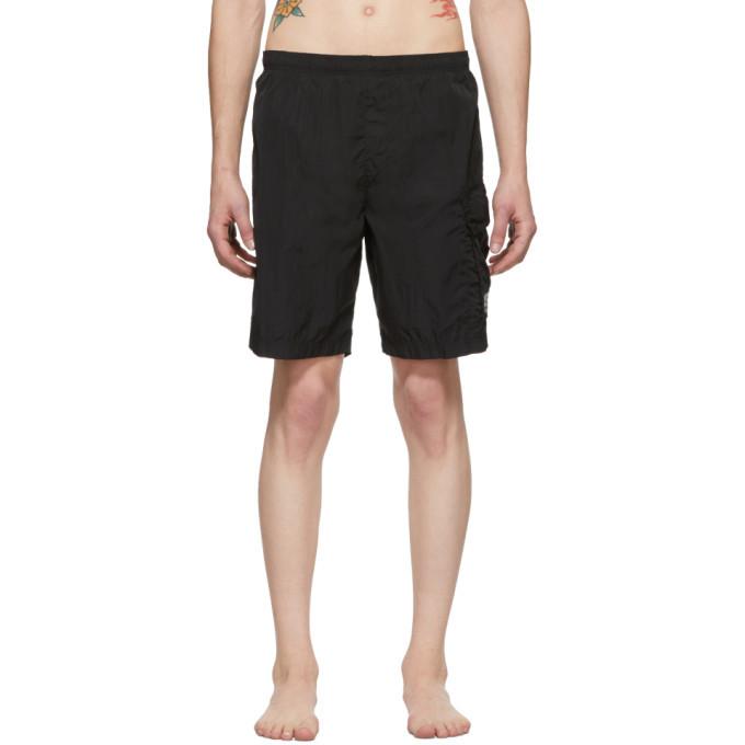 Photo: C.P. Company Black Pocket Swim Shorts