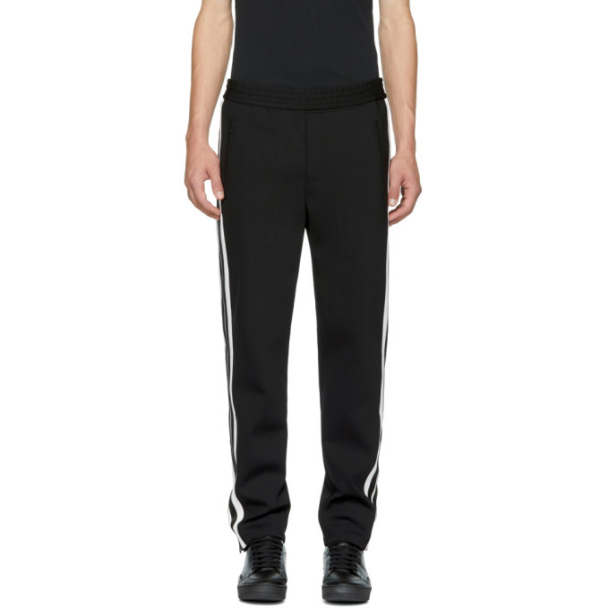 Photo: Neil Barrett Black and White Side Snap Trousers