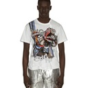 Comme Des Garcons Homme Plus Printed T Shirt White