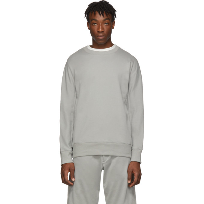 Photo: Y-3 Grey Classic Crewneck Sweater