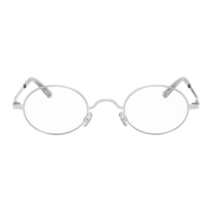 Photo: Maison Margiela Silver Mykita Edition MMCRAFT005 Glasses