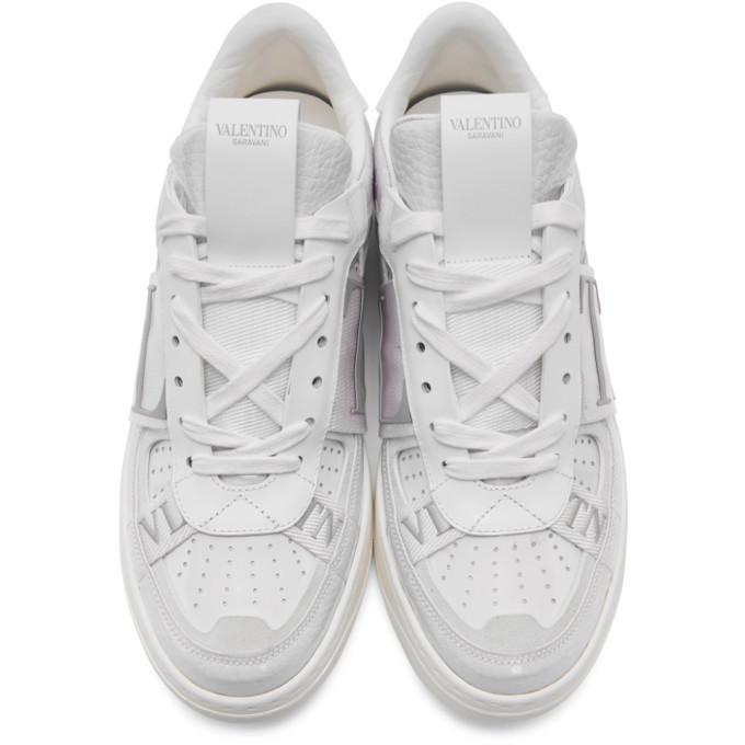 Valentino White Valentino Garavani VL7 Sneakers