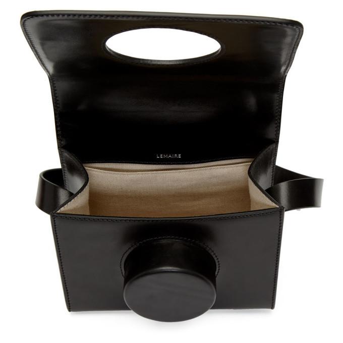 Lemaire Black Camera Bag