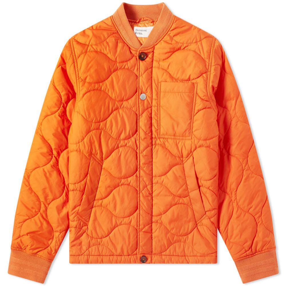 Photo: Universal Works Carlton Jacket Orange