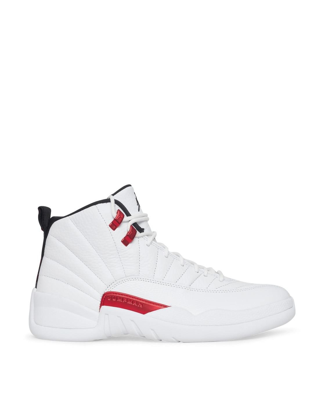 Photo: Nike Jordan Air Jordan 12 Retro Sneakers White/Black