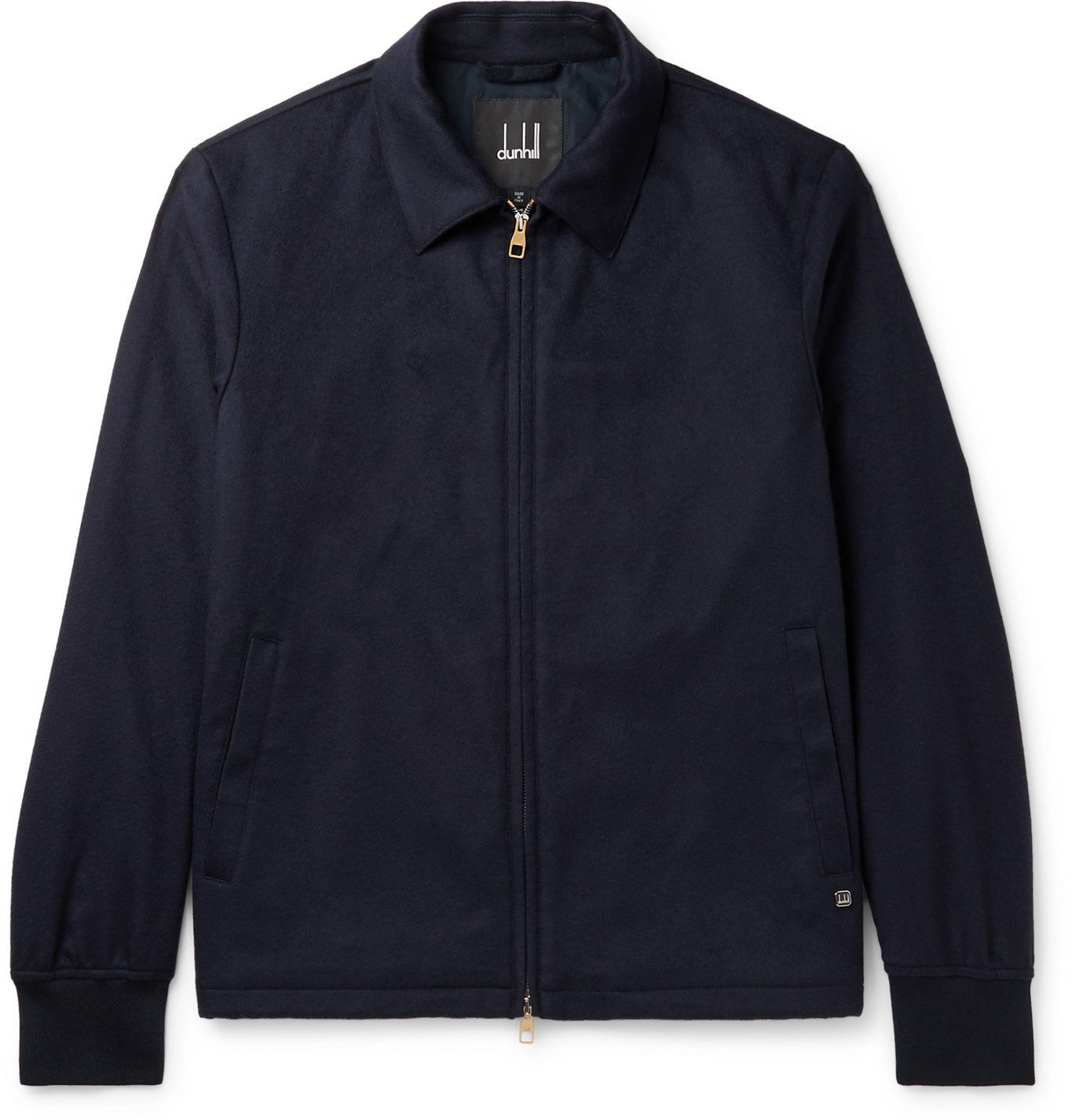 Dunhill - Wool and Cashmere-Blend Jacket - Blue
