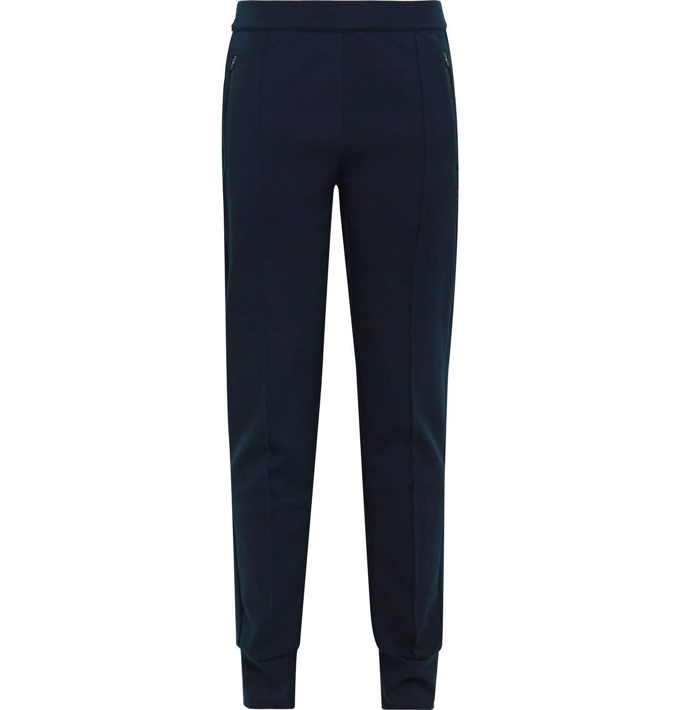 Photo: FALKE Ergonomic Sport System - Slim-Fit Tapered Tech-Jersey Track Pants - Blue