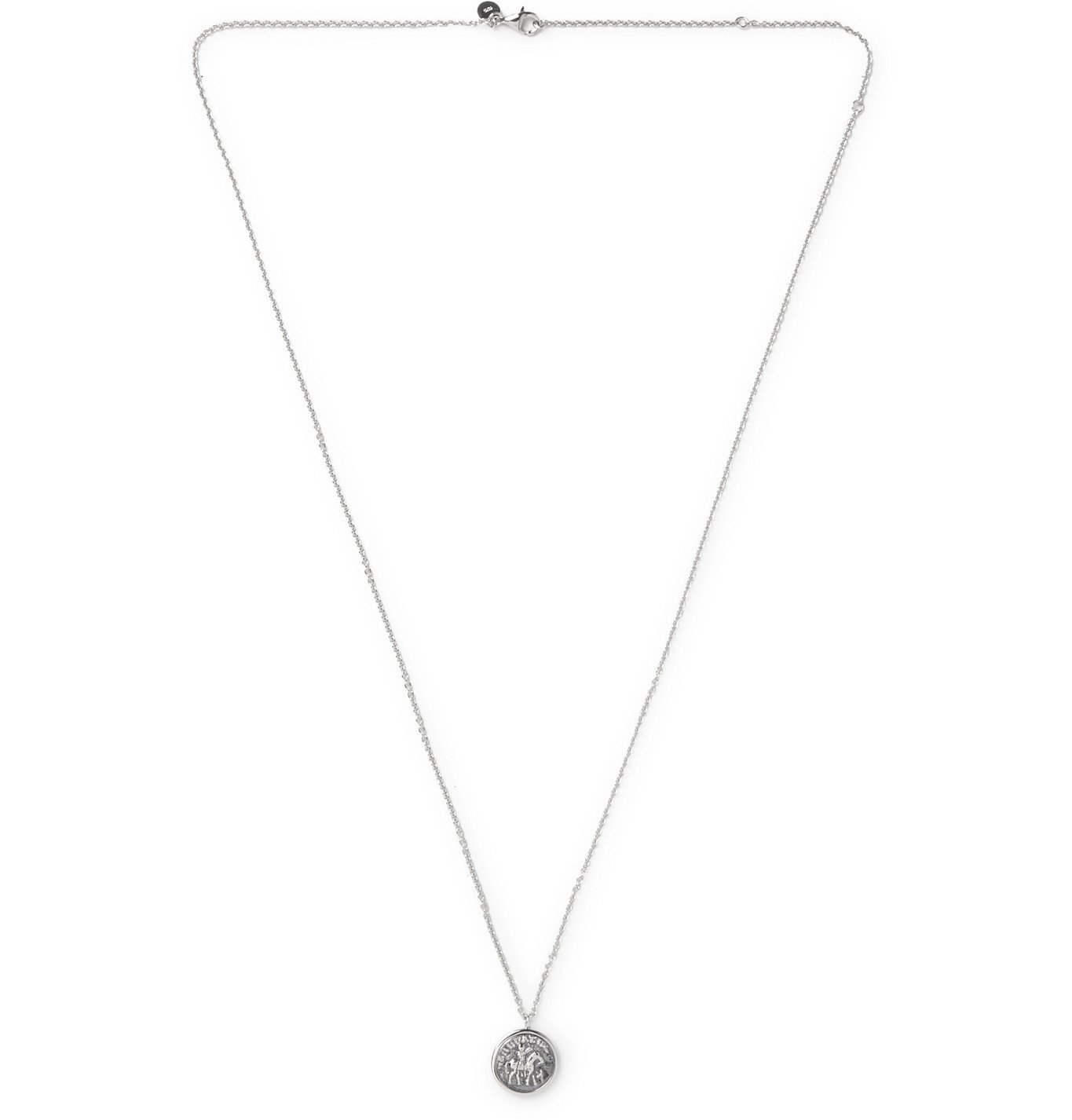 Photo: Tom Wood - Sterling Silver Pendant Necklace - Silver