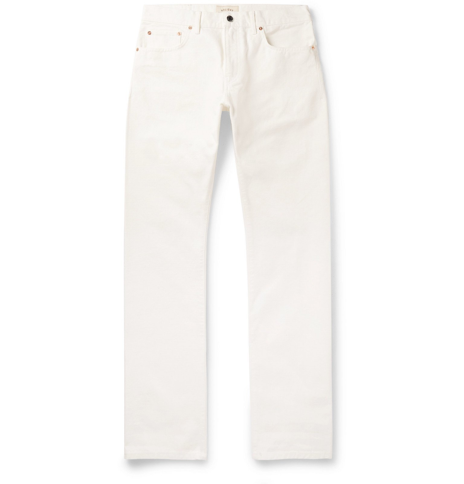 Photo: Holiday Boileau - Denim Jeans - White
