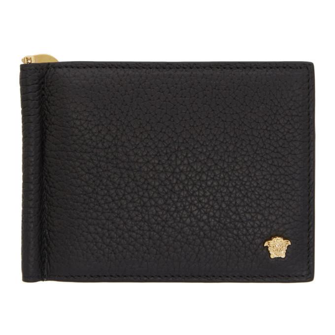 Photo: Versace Black Slim Medusa Wallet