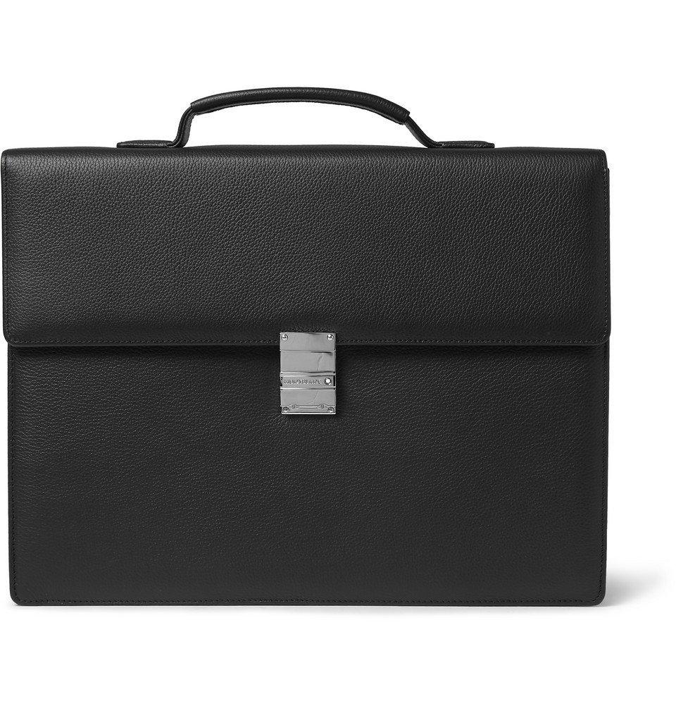 Photo: Montblanc - Meisterstück Leather Briefcase - Black
