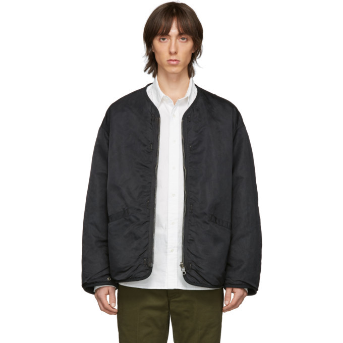 Photo: Visvim Reversible Black Iris Jacket