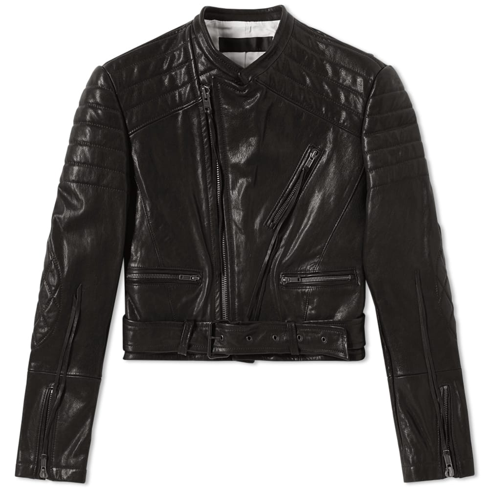 Photo: Haider Ackermann Leather Biker Jacket