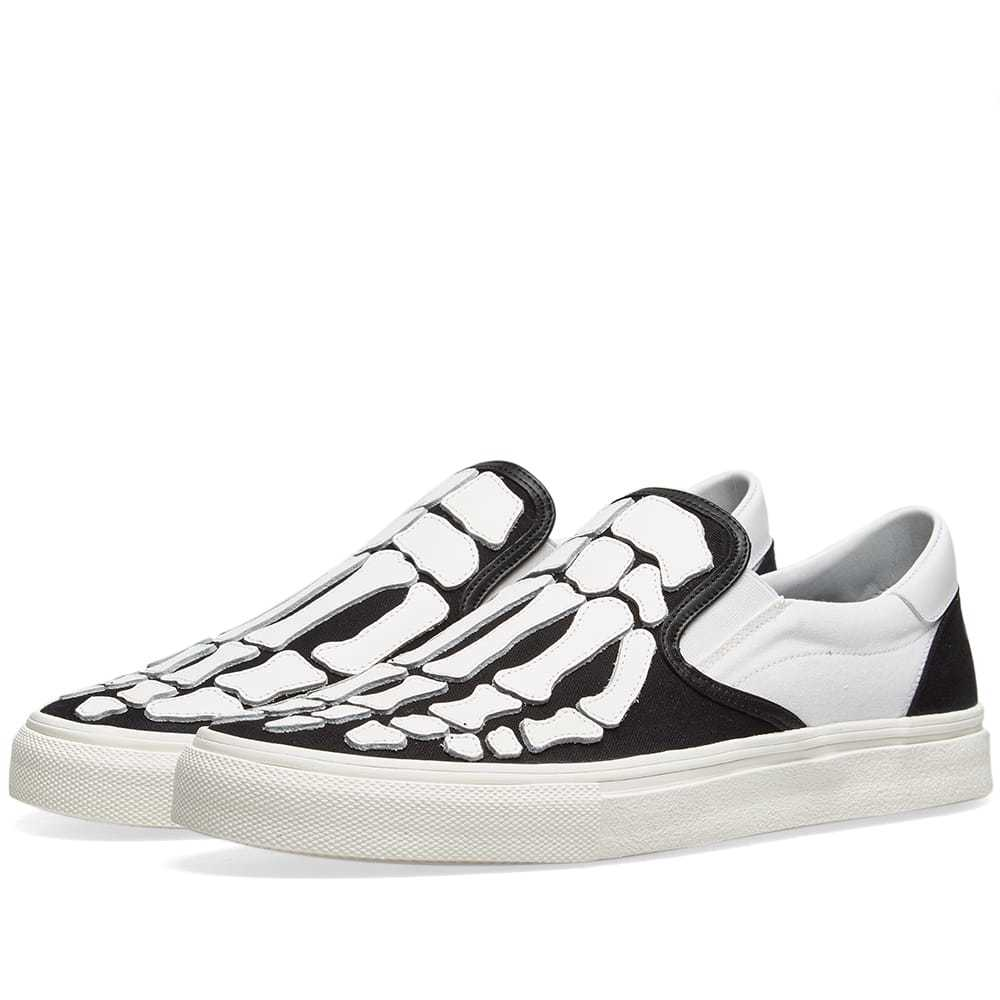 Photo: Amiri Slip On Bones Sneaker