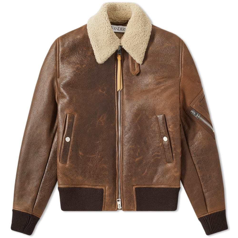 Photo: JW Anderson Shearling Aviator Jacket