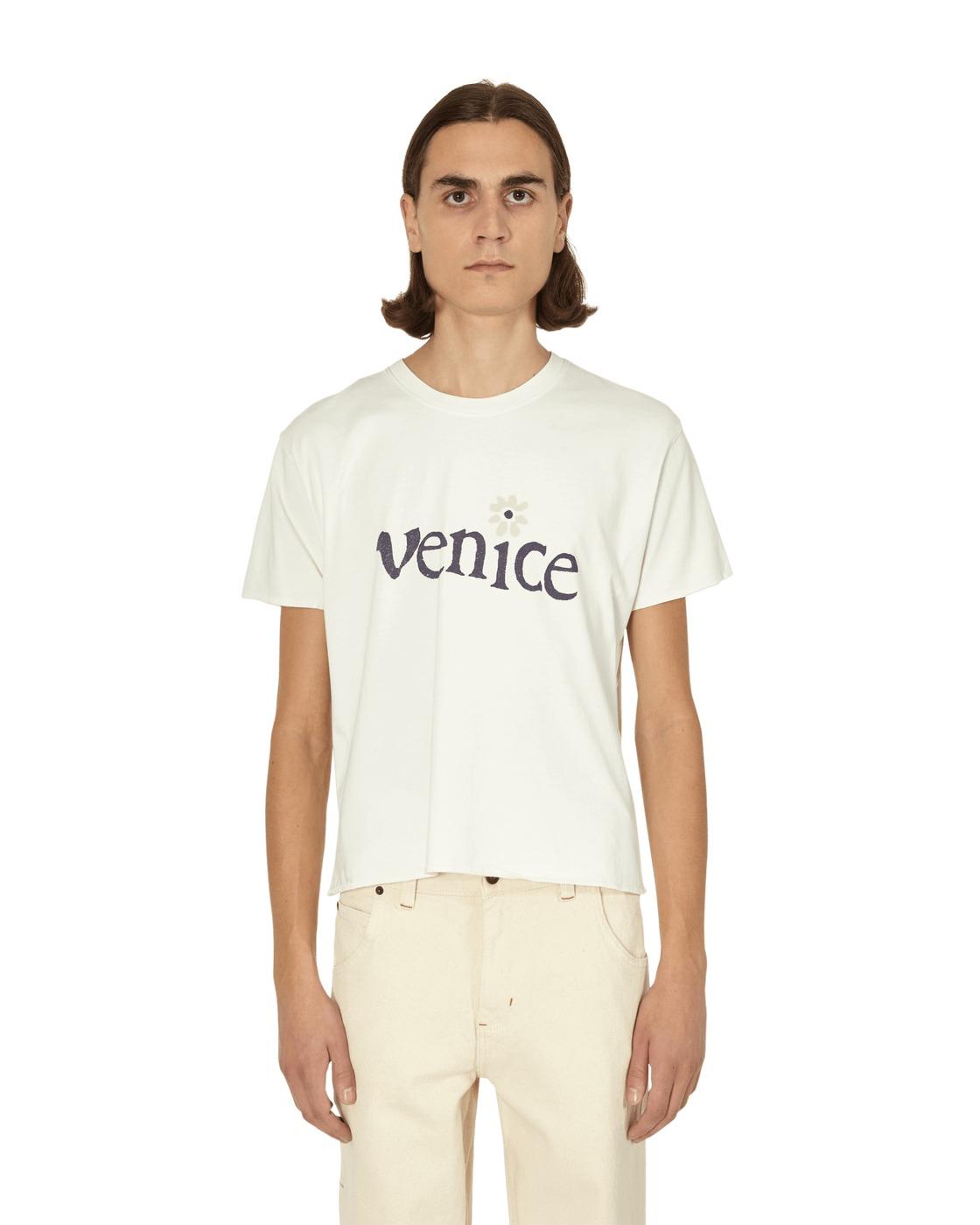 Photo: Erl Venice T Shirt Cream