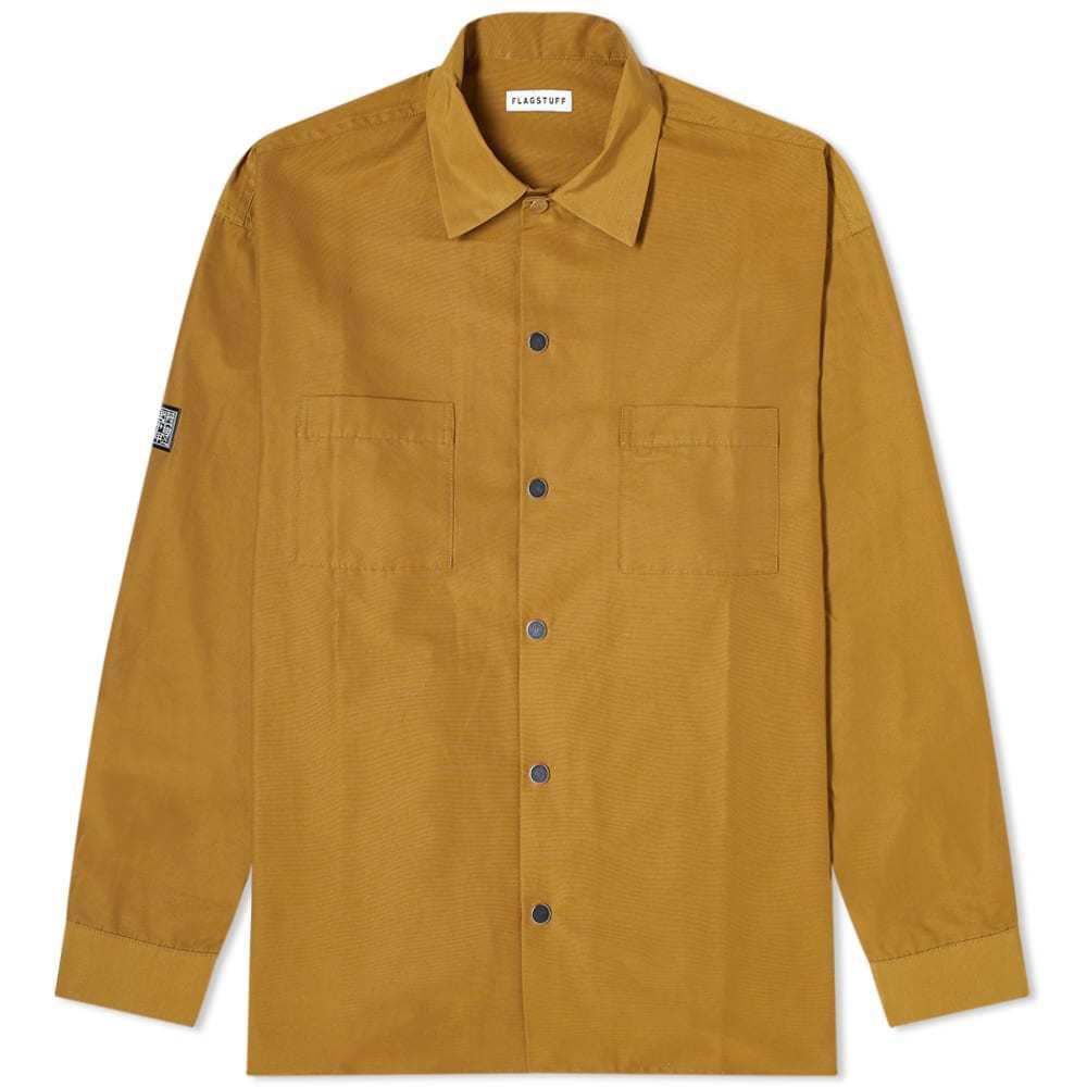 Photo: FLAGSTUFF Nylon Coach Overshirt Jacket