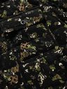 Sacai - Velvet-Trimmed Quilted Padded Printed Cotton-Corduroy Overshirt - Black