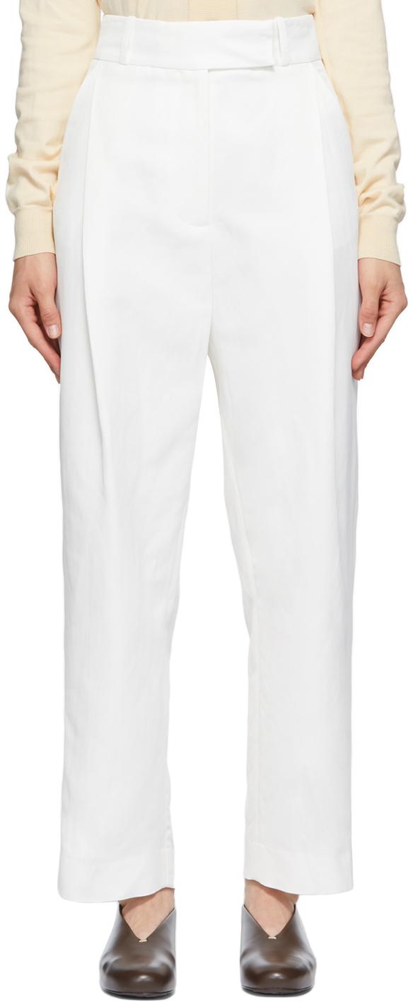 Photo: Totême White City Sport Trousers