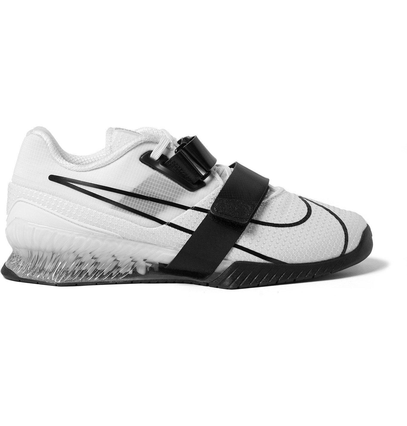 Photo: Nike Training - Romaleos 4 Ripstop and Mesh Sneakers - White