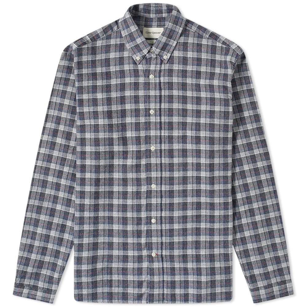 Photo: Oliver Spencer Button Down Brook Box Check Shirt