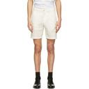 Dunhill Off-White Poplin Bermuda Shorts