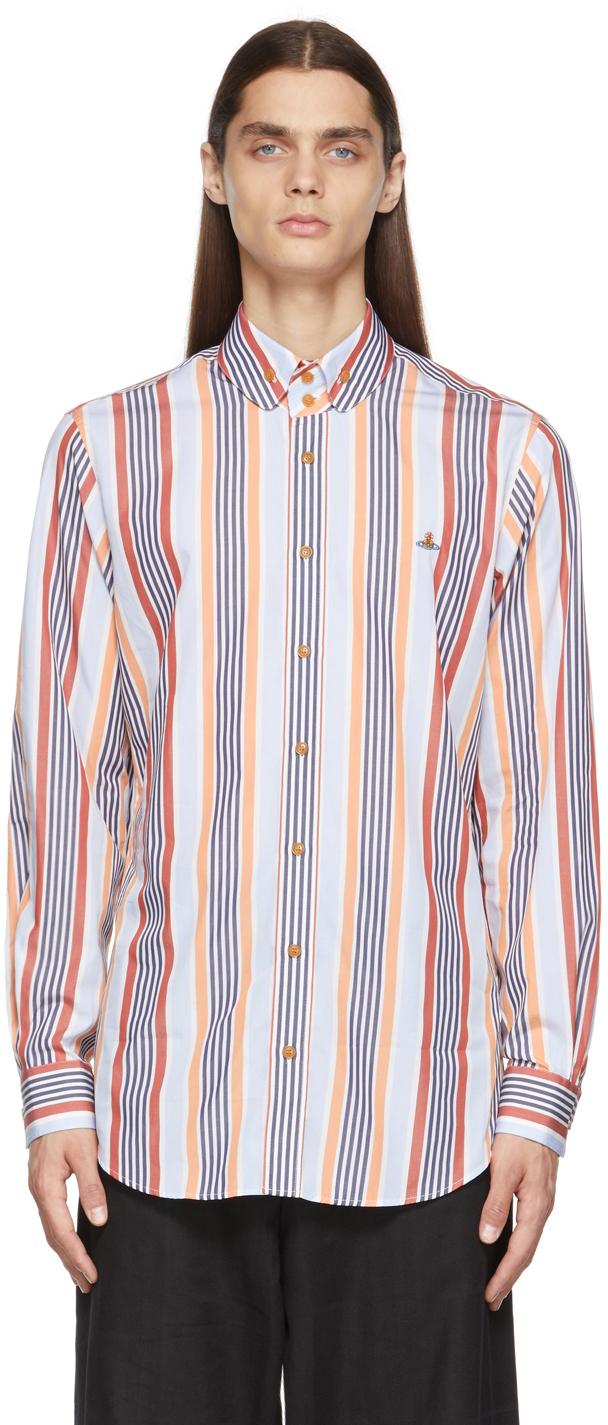 Photo: Vivienne Westwood Multicolor Striped Krall Shirt